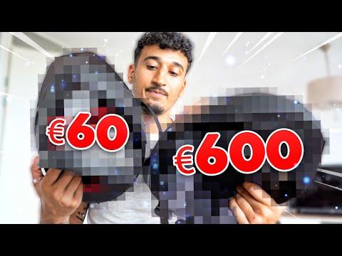 MOTORHELM VAN €60 VS €600 !
