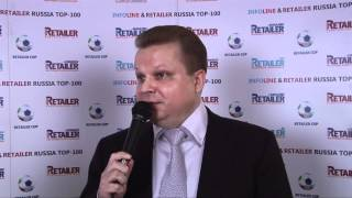 Андрей Нестеров на INFOLine&Retailer Russia Top-100 Day 2012