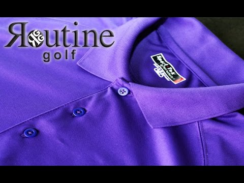 Routine Golf Gear Golf Shirts Review by Golf Life