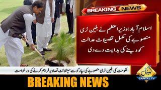 عمران خان کی بلین ٹری منصوبے کی مکمل تفصیلات عدالت کو دینے کی ہدایت
