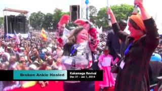 preview picture of video 'Broken ankle healed - Prophet Dr. Owuor'