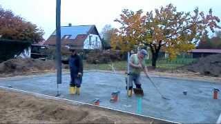 preview picture of video 'Aspekt 110 - Bodenplatte'