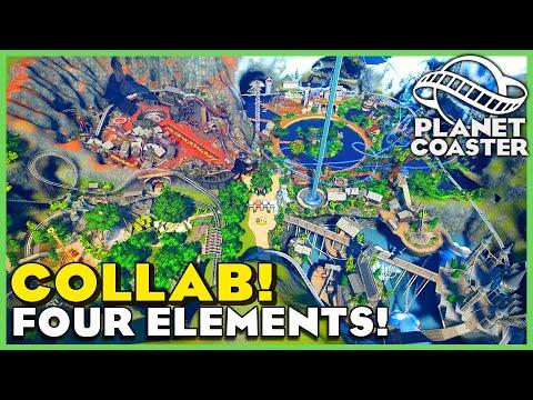 Four Elements Theme Park! Planet Coaster: Park Spotlight 183