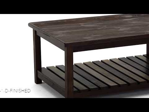 Mestler T580-1 Rectangular Cocktail Table