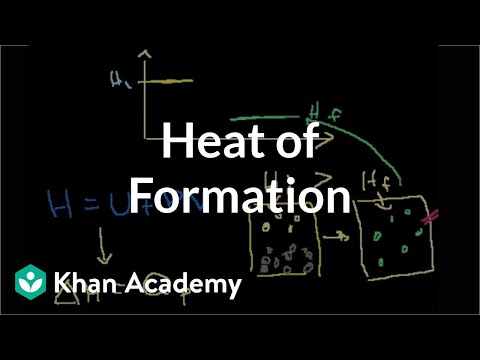 Heat of formation (video) | Enthalpy | Khan Academy