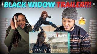 "Marvel Studios' ""Black Widow"" Official Teaser Trailer REACTION!!!"