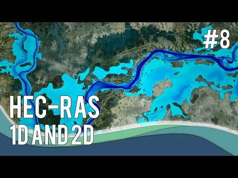 #8 Water Modelling using HEC-RAS: 1D and 2D - YouTube