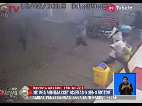 Terjadi Lagi!! Aksi Bodoh Geng Motor di Tasikmalaya Merusak Minimarket - BIS 18/02