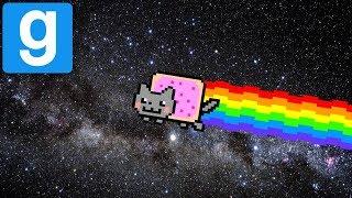 SO MANY RAINBOWS! - Nyan Cat Gun | Gmod