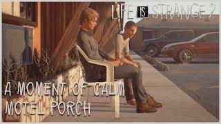A Moment of Calm - Motel Porch