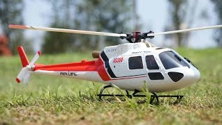 RC AS350 Scale 3D helicopter Review