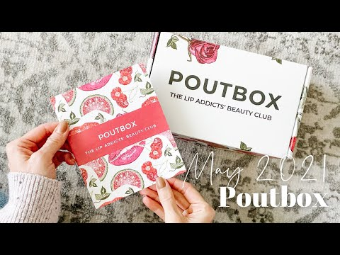 Poutbox Unboxing May 2021