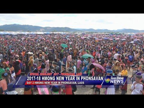 SUAB HMONG NEWS:  Highlight 2017-18 Hmong New Year in Phonsavan, Laos