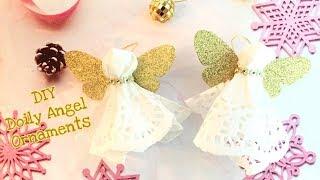 DIY Angel Doily Ornaments | Sizzix Big Shot