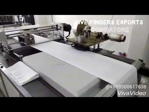 Fully Automatic Nonwoven Box Bag Making Machine