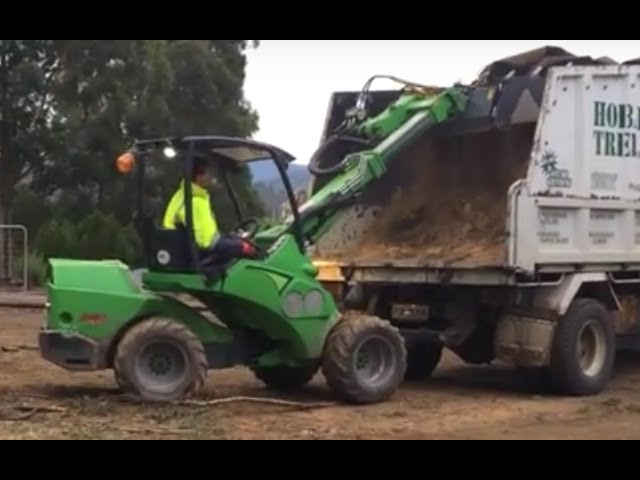 Avant Loader - Total Tree Management , TAS