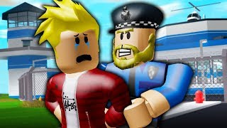 I Was Arrested?! (  A Roblox Mad City Movie)