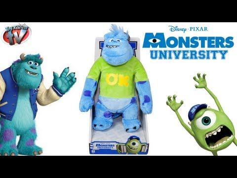 Monsters University Sulley 25cm Plush Toy Review, Spin Master