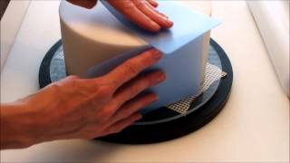 How To Get Sharp Edges On A Cake - Flexi Cake Smoother Tutorial