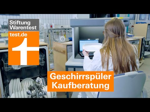 Geschirrspüler Test 2020: Warum A+-Spülmaschinen nicht überzeugen (Kaufberatung Stiftung Warentest)