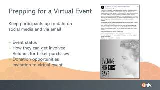 Tools And Strategies For Virtual Fundraising Events