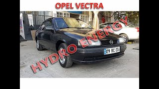 Opel Vectra 2.0 hidrojen yakıt sistem montajı