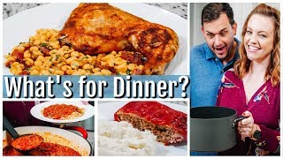 WHAT'S FOR DINNER?   EASY DINNER IDEAS   SIMPLE MEALS   NO. 39