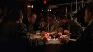 Tony And Paulie Jokes At Dinner   The Sopranos HD
