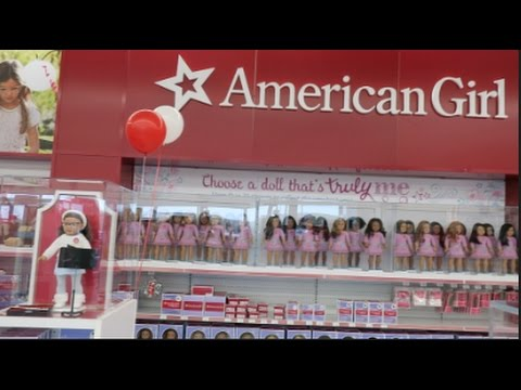 AMERICAN GIRL OPENING AT TOYS R US + SHOPPING HAUL! | beingmommywithstyle