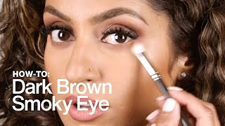 HOW TO: Dark Brown Smoky Eye | MAC Cosmetics