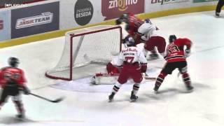 preview picture of video 'HC Orli Znojmo vs EC Red Bull Salzburg - Highlights'