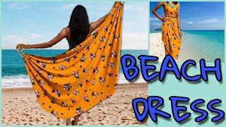 Make Easy And Smart Beach Dress