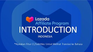 Welcome to Lazada Affiliate Program