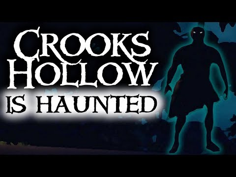 CROOKS HOLLOW IS HAUNTED // SEA OF THIEVES - A Ghost? A glitch? You decide!