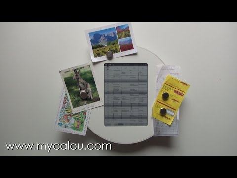 CALOU - Der digitale Wandkalender - Digitaler Familienkalender