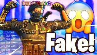 i met a FAKE LEVEL 1000 on Black Ops 3.. 😱 (hacker)