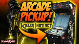 Arcade Cabinet Pickup - KILLER INSTINCT!