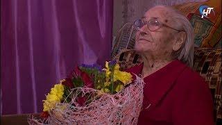 Ветерану Великой Отечественной войны Людмиле Коробовой исполнилось 95 лет