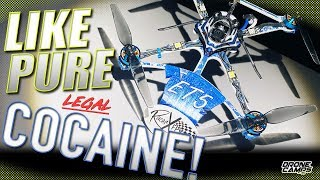 "LIKE PURE COCAINE! - BetaFpv RacerX ET5 is the 5"" of the FUTURE under 250G ????"