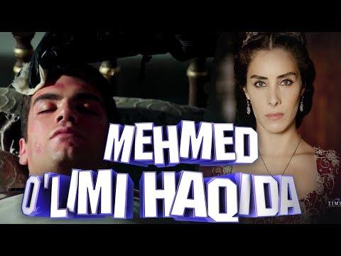 Shahzoda Mehmedni aslida kim o'ldirgan? Mahidevran? (Muhtasham yuz yil qiziqarli faktlar)