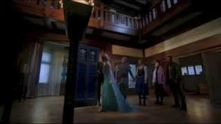 Once Upon A Time 4x11 - Elsa and Anna Say Goodbye to Storybrooke