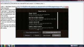 How to download minecraft 1.5.2 with .minecraft 54 mods