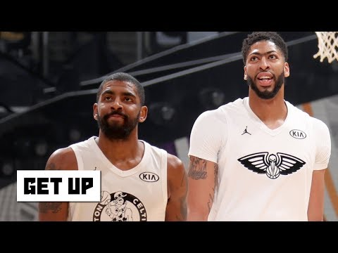 The Celtics will try to keep Kyrie by signing Anthony Davis in free agency - Woj | Get Up
