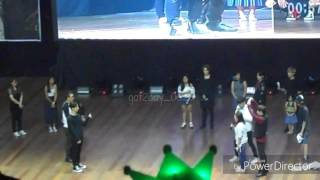 [FanCam] 161223 Got7 in Manila 'Name that Action' Game JB Focus