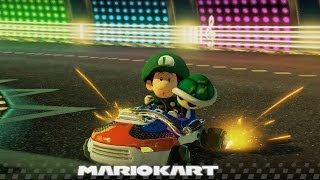 Mario Kart 8 Grand Prix Walkthrough Part 7 - 100cc Leaf Cup (3 Star Rank)