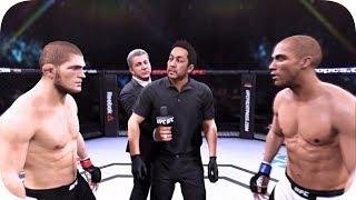 UFC 2 БОЙ Хабиб Нурмагомедов vs Эдсон Барбоза (com. vs com.)