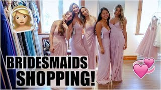 Bridesmaids Dress Shopping + Huge Haul!!