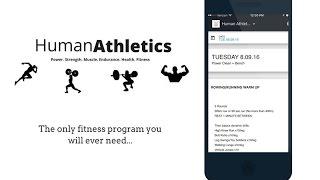 Barbell CEO Human Athletics App Tutorial