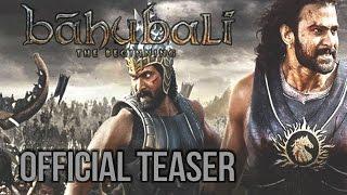 Baahubali - The Beginning - Official Teaser (Tamil)