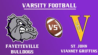 Varsity Football I Vianney @ Fayetteville